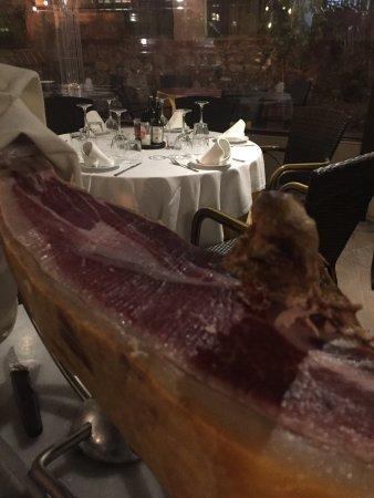 Benahavis, إسبانيا: Nuestro jamón ibérico de bellota