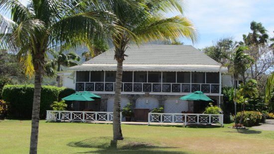 Nisbet Plantation Beach Club: The great house where afternoon tea & evening dinner are served