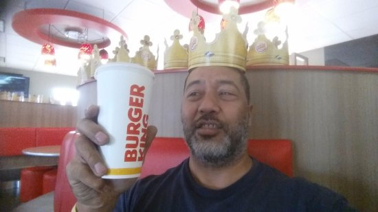 Indian Harbour Beach, FL: I felt like a King in the Burger King