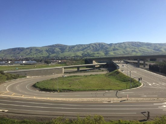 Hyatt Place Fremont/Silicon Valley: Gorgous Oakloand-San Francisco Bay Hillside views