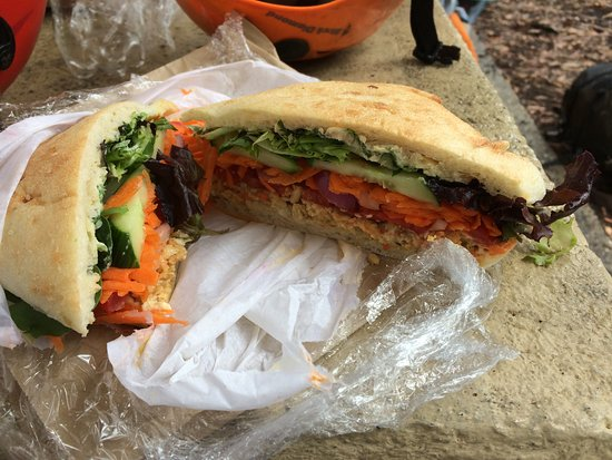 Blackheath, Australia: Vegetarian sandwich