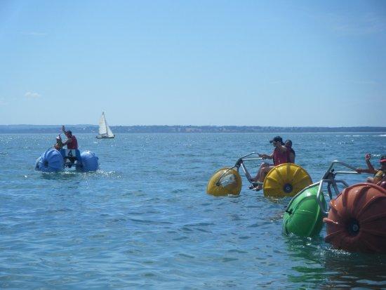 Каус, Австралия: aquabikes