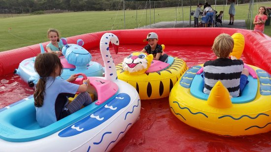 Cowes, ออสเตรเลีย: bumper boats