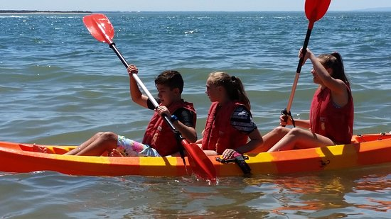 Cowes, ออสเตรเลีย: double kayaks