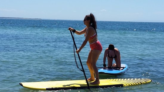 Cowes, Australien: stand up paddle boards