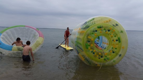 Cowes, ออสเตรเลีย: cocoon, SUP , zorb roller