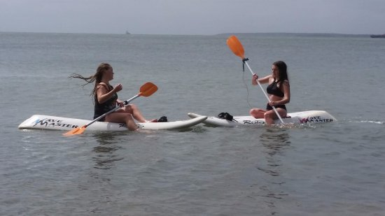 Cowes, Australien: sit down paddle boards