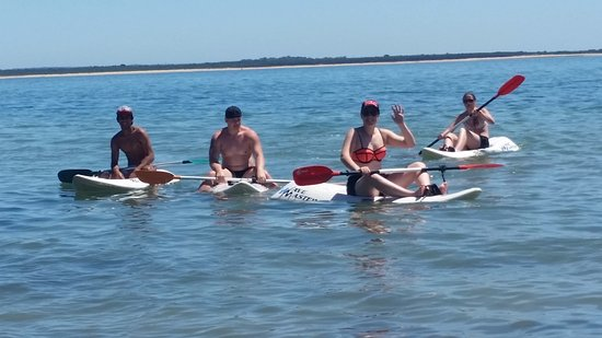 Cowes, Australien: paddle boards