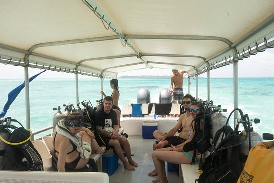 Peleliu, Palaos: Dive boat was comfortable and fast. Skipper was very very good.