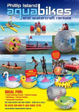 Aquabikes & Watercraft Rentals