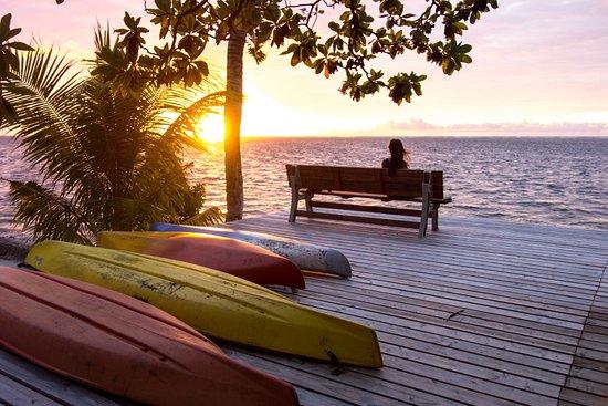 Peleliu, Palaos: Great sunsets