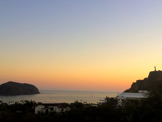 Las Palmas B&B: View from the balcony at sunset