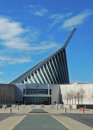 Triangle, VA: Exterior, National Museum of the Marine Corps. (Wes Albers)