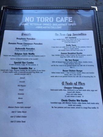 No Toro Cafe
