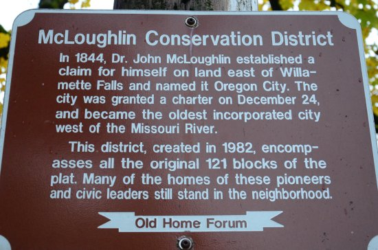 ออริกอนซิตี, ออริกอน: McLoughlin Conservation District.