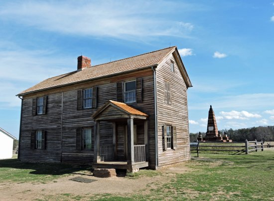 Henry Hill House, Manassas National Battlefield Park. (Wes Albers)