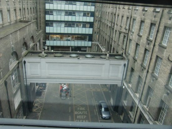 Premier Inn London County Hall Hotel: View from the room