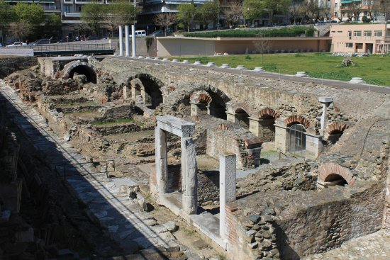 Photo of Monument / Landmark The Greek Agora and Roman Forum at Φιλίππου, Thessaloniki, Greece