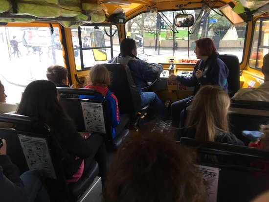 London Duck Tours: Inside photo of a duck