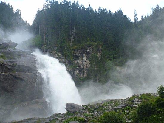 Krimml, Austria: Водопад