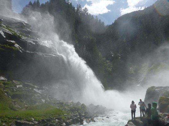 Krimml, Austria: 1-я ступень