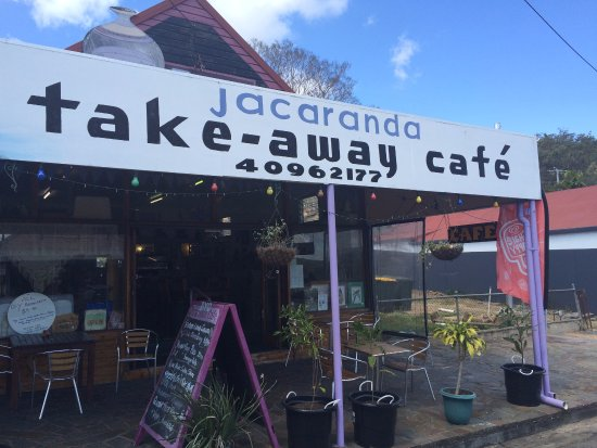 Herberton, Avustralya: The Jacaranda Cafe