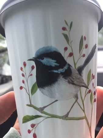 Noosaville, Australien: Pretty cups!