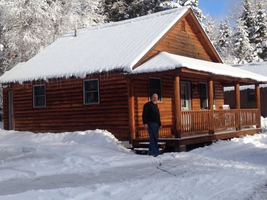 Pittsburg, NH: Oprey cabin