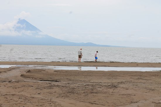 Along the west shore of Lake Nicaragua