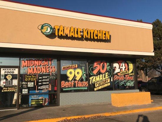 Absolute Best Breakfast Burrito Ever Review Of Tamale Kitchen Northglenn Co Tripadvisor