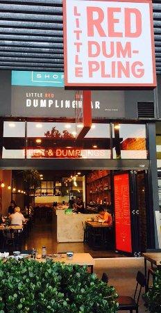 Little Red Dumpling Bar : dumpling and bar