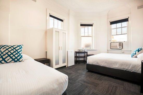 Auburn, Australia: Economy Twin Double Room - Shared Facilities