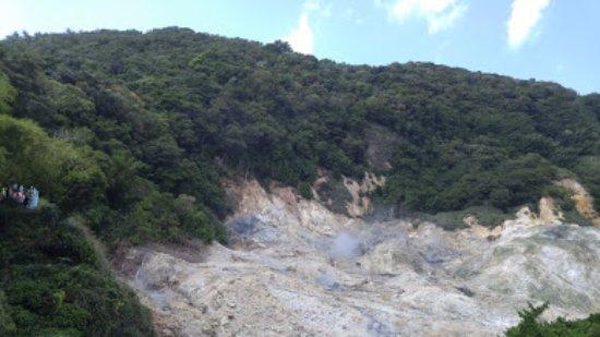 Sulphur Springs: parte del volcan