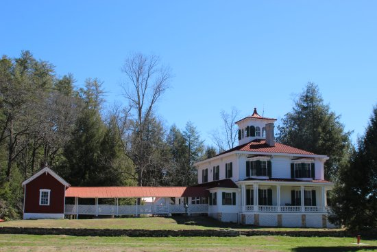 Sautee Nacoochee, GA: House at Hardman Farm