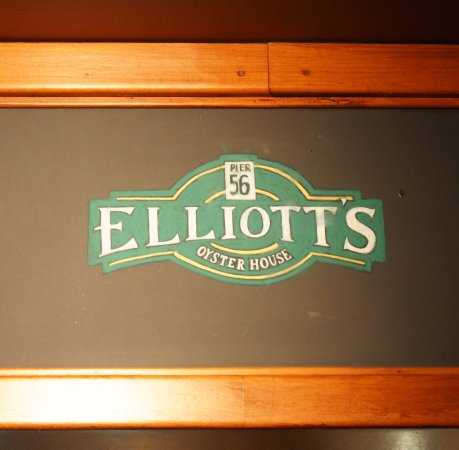 Elliott's Oyster House: This is the place
