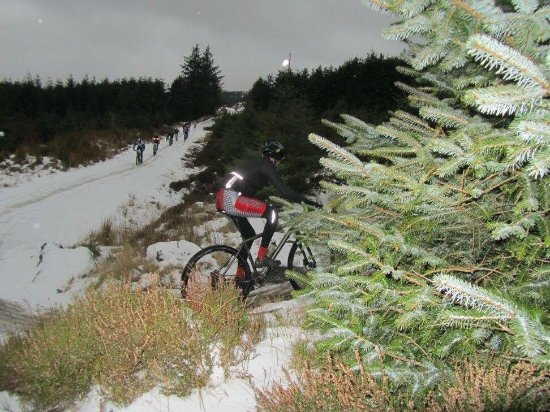 Roundwood, Ireland: Great walking and cycling tracks! At the biking blitz and can only say it was fantastic.