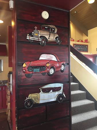 3D Car decoration, Plates Eatery & Catering Co, 2601 Cliffe Ave, Courtenay, British Columbia