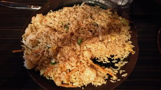 Edwardsville, IL: Shrimp fried rice.