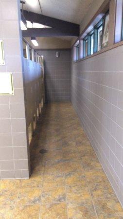 Ijams Nature Center: Kid friendly restroom