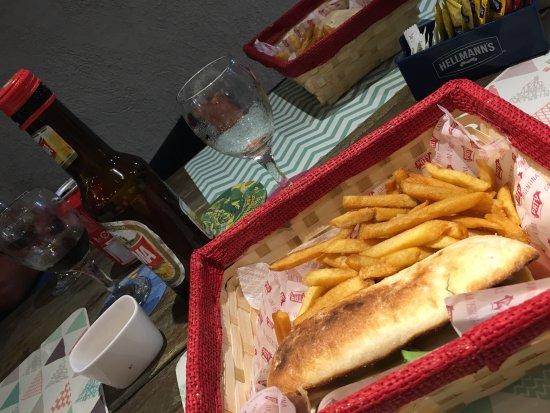Paso de los Libres, Argentina: Cena rápida después de un viaje agotador! Buen servicio y atención