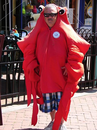 Cape May Fish Market: Seafood guy.