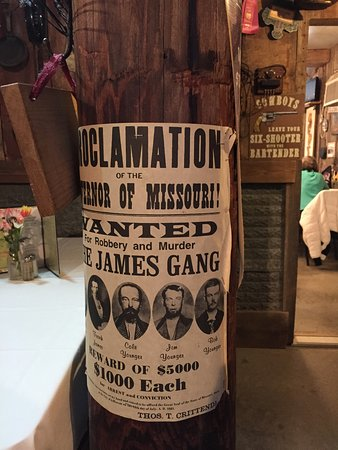 Atchison, KS: Still looking for the James Gang