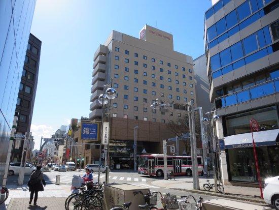 Nagoya Sakae Tokyu REI Hotel : 見つけやすかったです
