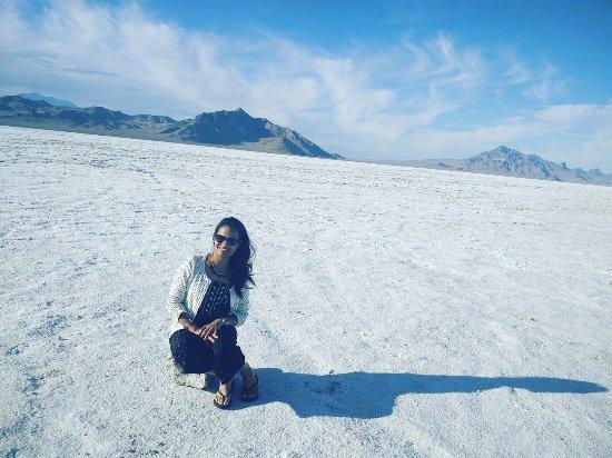 Bonneville Salt Flats : The salt flats