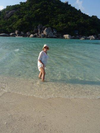 Koh Nang Yuan: Wish we had more time on the beach