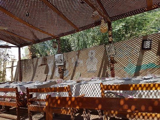 Restaurant Mohammed : outside Sit