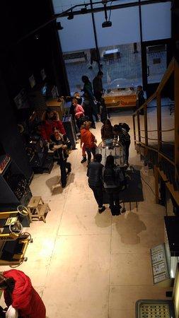 Музей советских игровых автоматов: Вид со 2 этажа