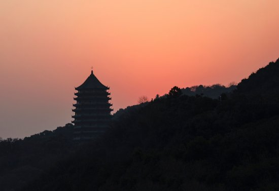 Hangzhou, China: Six Harmonies Pagoda
