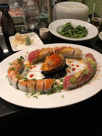 Lespri Prime Steak Sushi Bar: Delicious sushi!!