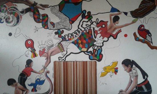 San Juan la Laguna, Guatemala: Su mural